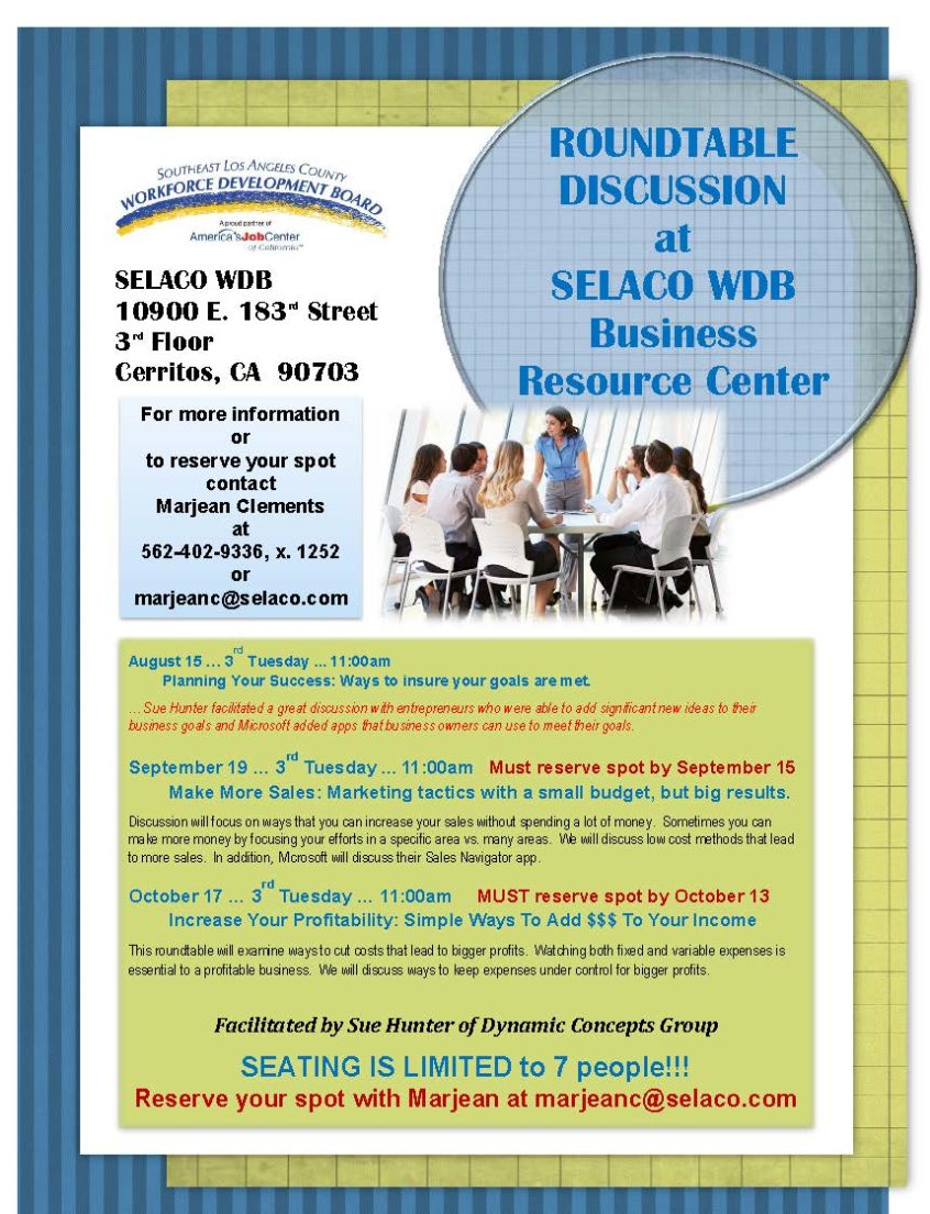 Round table discussion flyer - Leave A Reply Cancel Reply