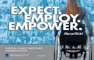National Disability Employment Awareness Month 2017