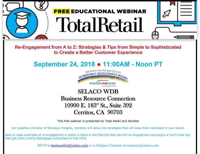 webinar better retail customer experience