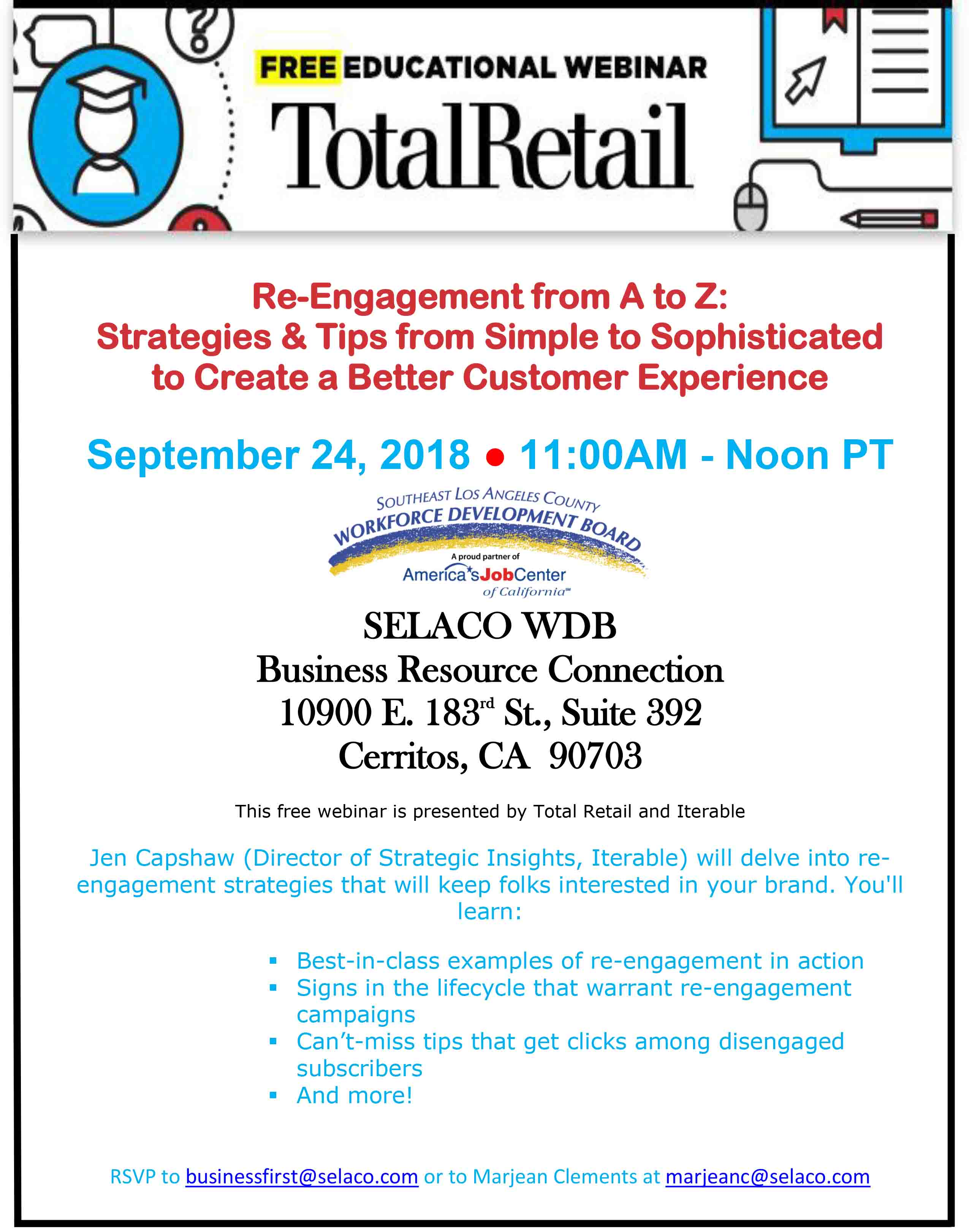 events test selaco wdb
